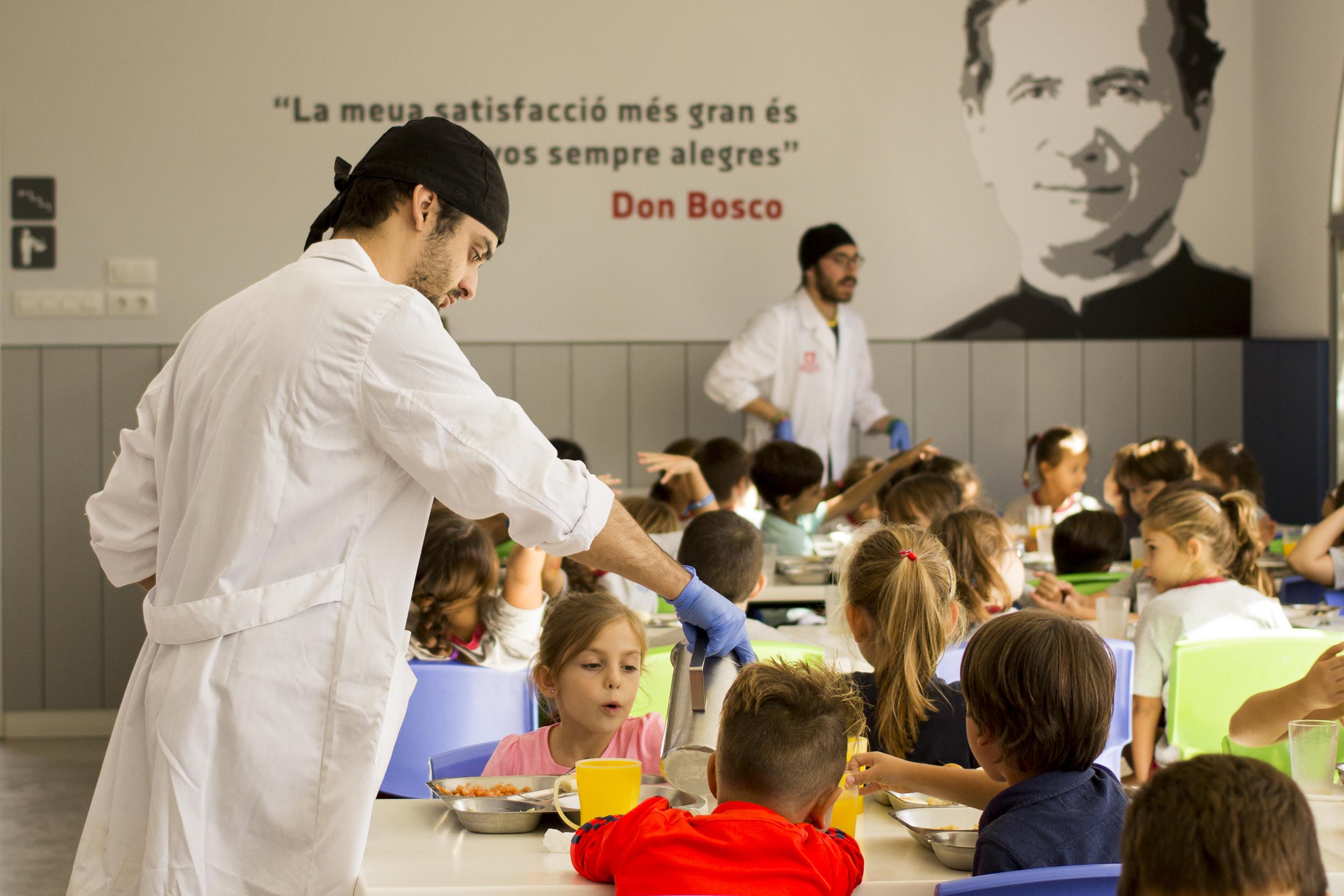 Comedor | Colegio San Juan Bosco Valencia