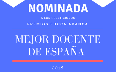 La profesora Beatriz Lluch Ibáñez nominada a mejor docente de España 2018 en los premios Educa Abanca