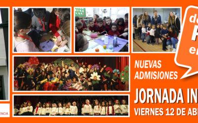 El colegio organiza la Jornada informativa de puertas abiertas para familias de nueva admisión