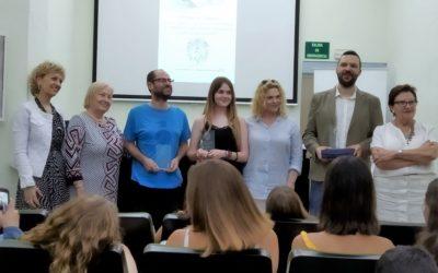 El profesor Samuel Cortés recibe el VIII Premio 2019 de Investigación Pedagógica y Experiencias Didácticas del C.D.L. de Valencia y Castellón