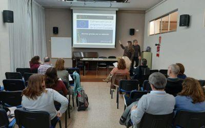 Reunión con las familias para ultimar detalles sobre la movilidad Erasmus+ para intercambio de buenas prácticas con nuestros socios de Lyon
