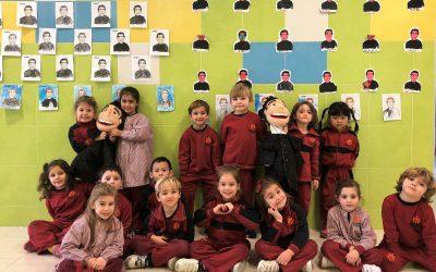 Los alumnos de la etapa de Infantil se preparan para la llegada de la fiesta de Don Bosco
