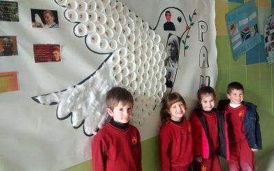 ¡Los niños y niñas quieren paz!