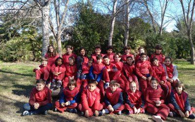 Los alumnos de tercero de primaria viajan a Mercaflor con la EMT