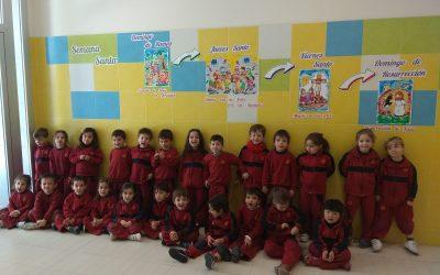 Los alumnos de Educación Infantil preparan la llegada de la Semana Santa