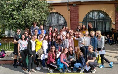Los alumnos y alumnas de primero de Bachillerato han completado el intercambio con el instituto alemán Euregio Gymnasium de Bocholt