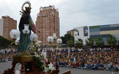 Toda la comunidad educativa celebra a María Auxiliadora en su gran día