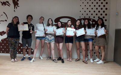 El alumnado de ESO recibe los premios del concurso de inglés Big Challenge