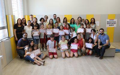 """El proyecto """"Leer en casa"""" finaliza con un reconocimiento a las familias lectoras de Primaria"""