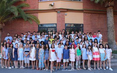 Despedida de los alumnos de 6º de Primaria con una sentida celebración en la Parroquia