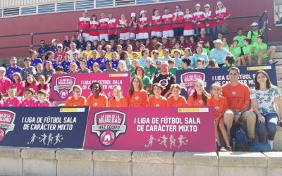 El colegio participa en la Liga de la igualdad, en el Consejo Superior de Deportes de Madrid