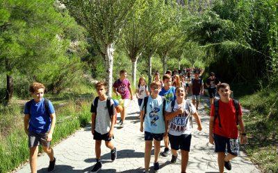 El alumnado de ESO disfruta de un maravilloso y soleado día de convivencia
