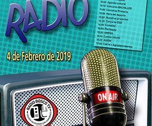 El colegio celebrará el Día de la Radio, 4 de febrero, con una emisión durante todo el día en directo