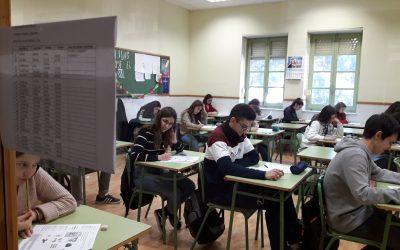 El colegio organiza los exámenes de A2 de inglés y francés de la Consellería de Educación