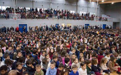 Una fiesta colegial en honor a Don Bosco en la que todos se han sentido los primeros
