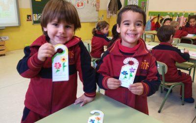 Todos los alumnos y alumnas de infantil aportan su granito de arena contra la desigualdad