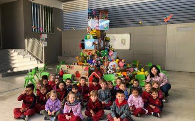 Los alumnos de Educación Infantil y primaria celebraron su «Semana Fallera» en el colegio