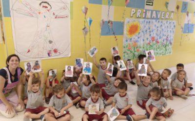 Infantil recuerda a Leonardo Da Vinci en su semana cultural