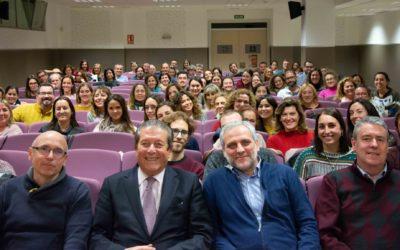 Federico Mayor Zaragoza imparte en el Colegio Salesiano San Juan Bosco de Valencia una conferencia sobre el qué y el cómo de la educación en el contexto de la globalización