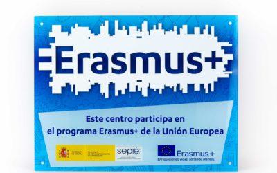 El colegio presenta los proyectos Erasmus + en las jornadas de plurilingüimo de la inspectoría