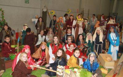 El Colegio Salesiano San Juan Bosco de Valencia presenta su IV Belén Viviente con todavía más representación de los niños y niñas de Infantil y Primaria