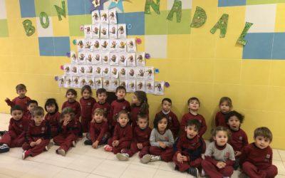 Los alumnos de Educación Infantil han preparado durante todo el mes de diciembre la llegada del nacimiento de Jesús